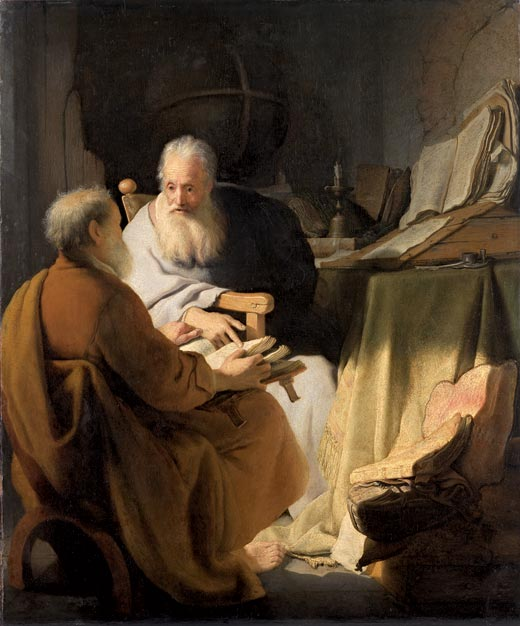 "Rembrandt's ""Two Philosophers"""