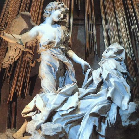 "Bernini's ""The Ecstacy of St Teresa"""