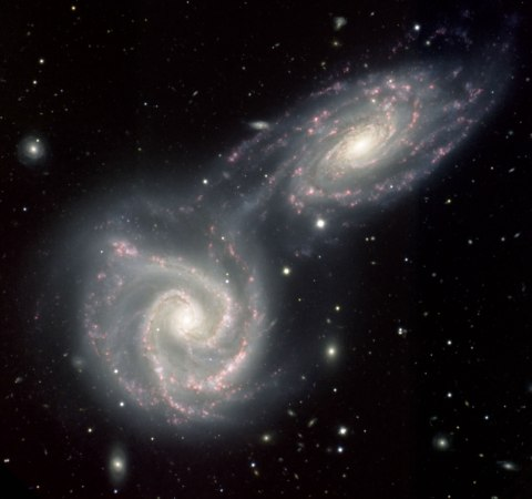 Spiral galaxies NGC 5426 and NGC 5427