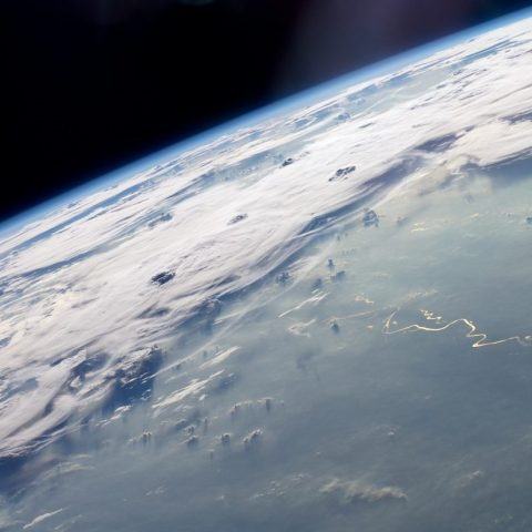 Thunderstorms as viewed from space
