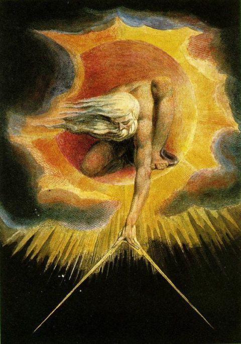 William Blake's vision of Genesis