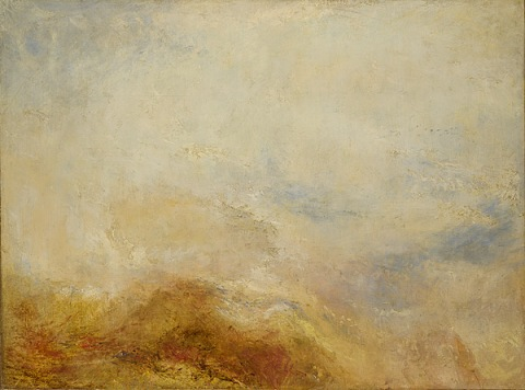 """A mountain scene, Val d'Aosta"" - William Turner"