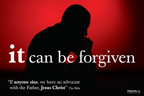 It can be forgiven