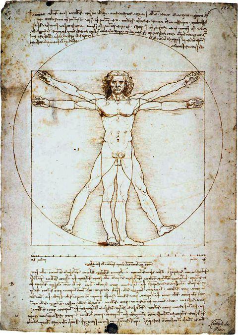 Leonardo Da Vinci's Vetruvian Man